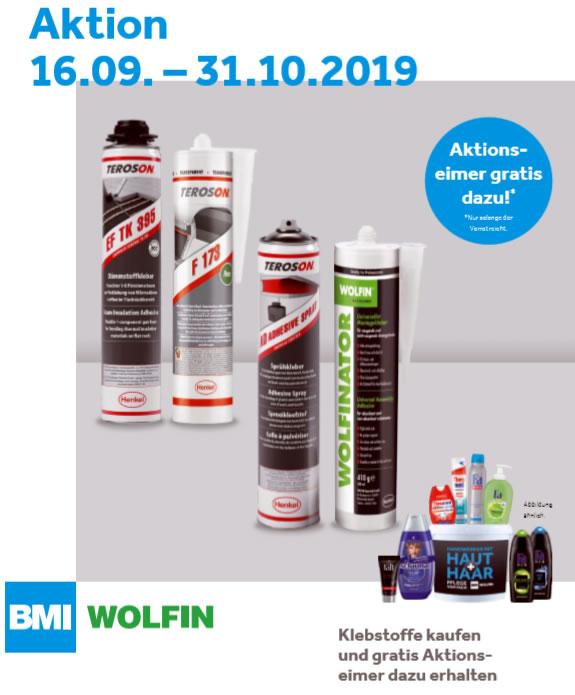 BMI Wolfin-Aktion bis Ende Oktober 2019