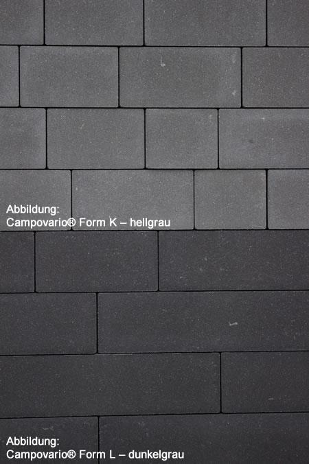 Campovario Form K – hell-und-dunkelgrau