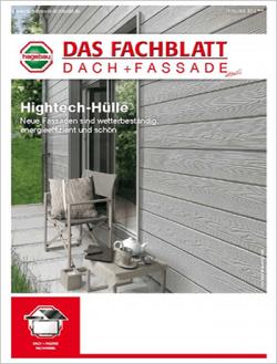 Das Fachblatt Dach + Fassade Ausgabe 01.2016