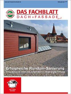 Das Fachblatt Dach + Fassade Ausgabe 01.2017