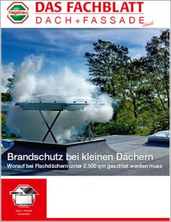Das Fachblatt Dach + Fassade Ausgabe 03.2015