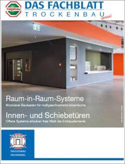 Das Fachblatt Trockenbau Ausgabe 03.2015