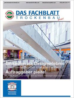 Das Fachblatt Trockenbau Ausgabe 01.2016