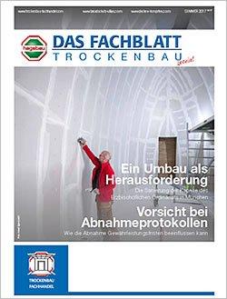 Das Fachblatt Trockenbau 02-2017